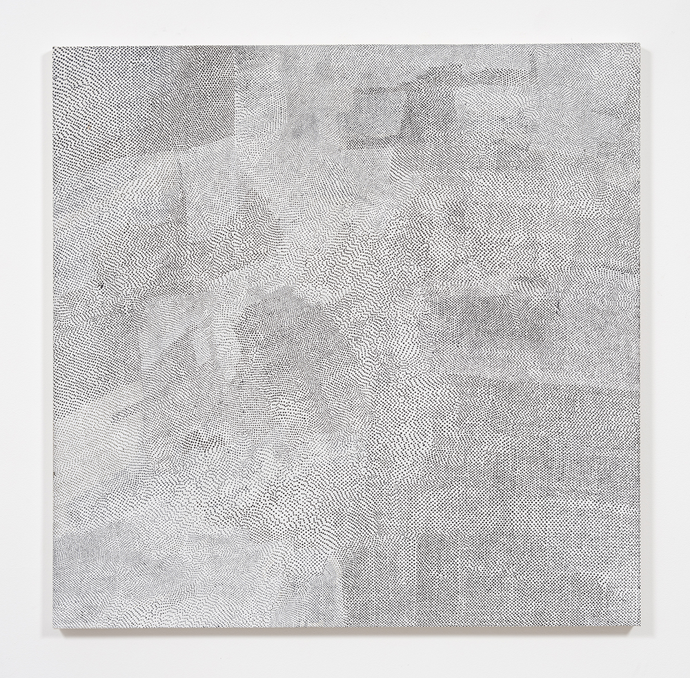 Ekta Aggarwal. <em>Living Land</em>, 2018. Natural pigments on canvas, 48 x 48 inches  (121.9 x 121.9 cm)