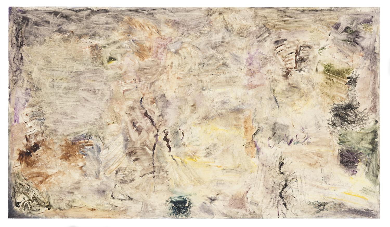 Joaquin Boz. <em>Untitled</em>, 2018. Oil on panel, 39 3/8 x 68 7/8 inches (100 x 175 cm)