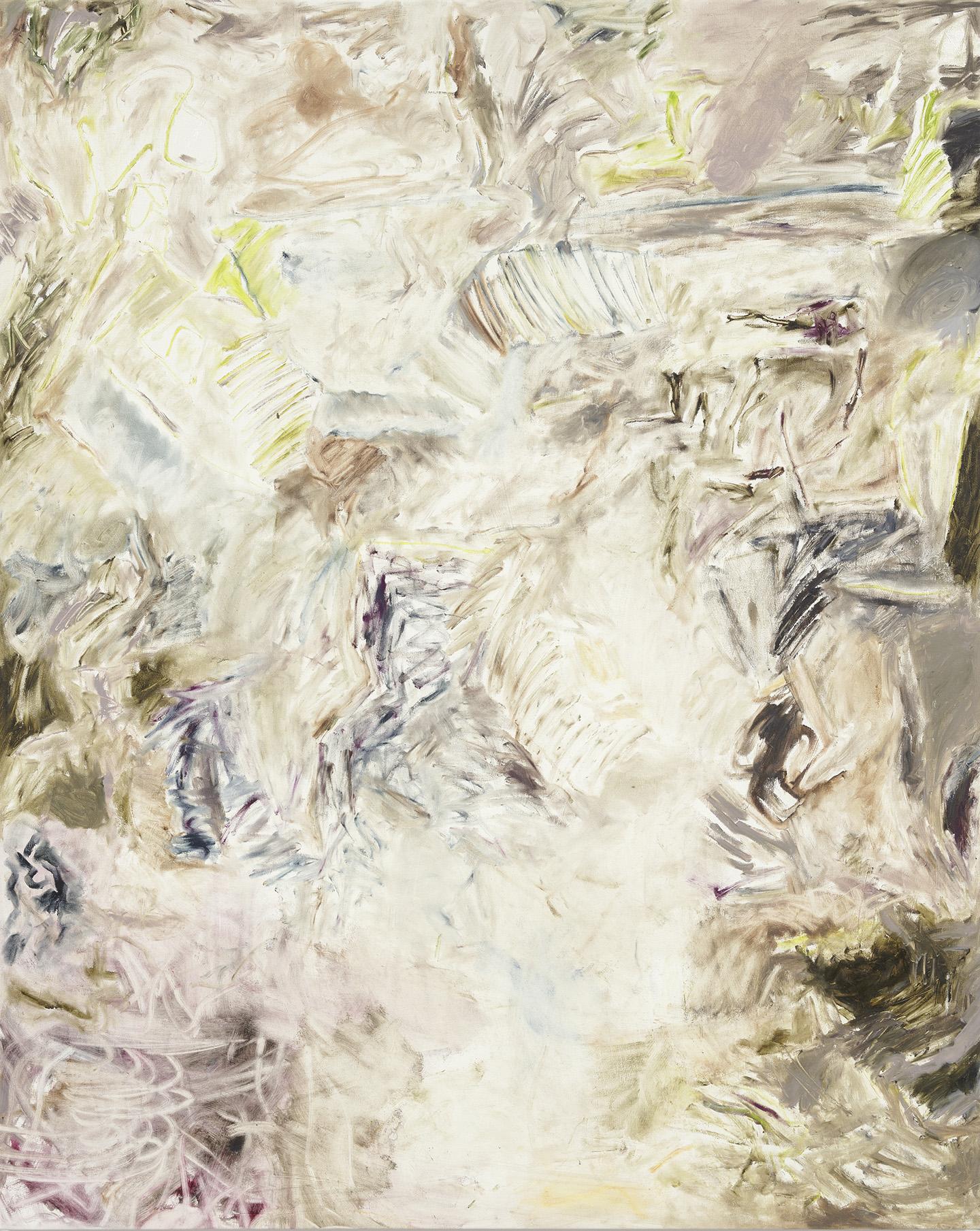Joaquin Boz. <em>Untitled</em>, 2018. Oil on canvas, 65 1/2 x 52 1/2 inches (166.4 x 133.4 cm)
