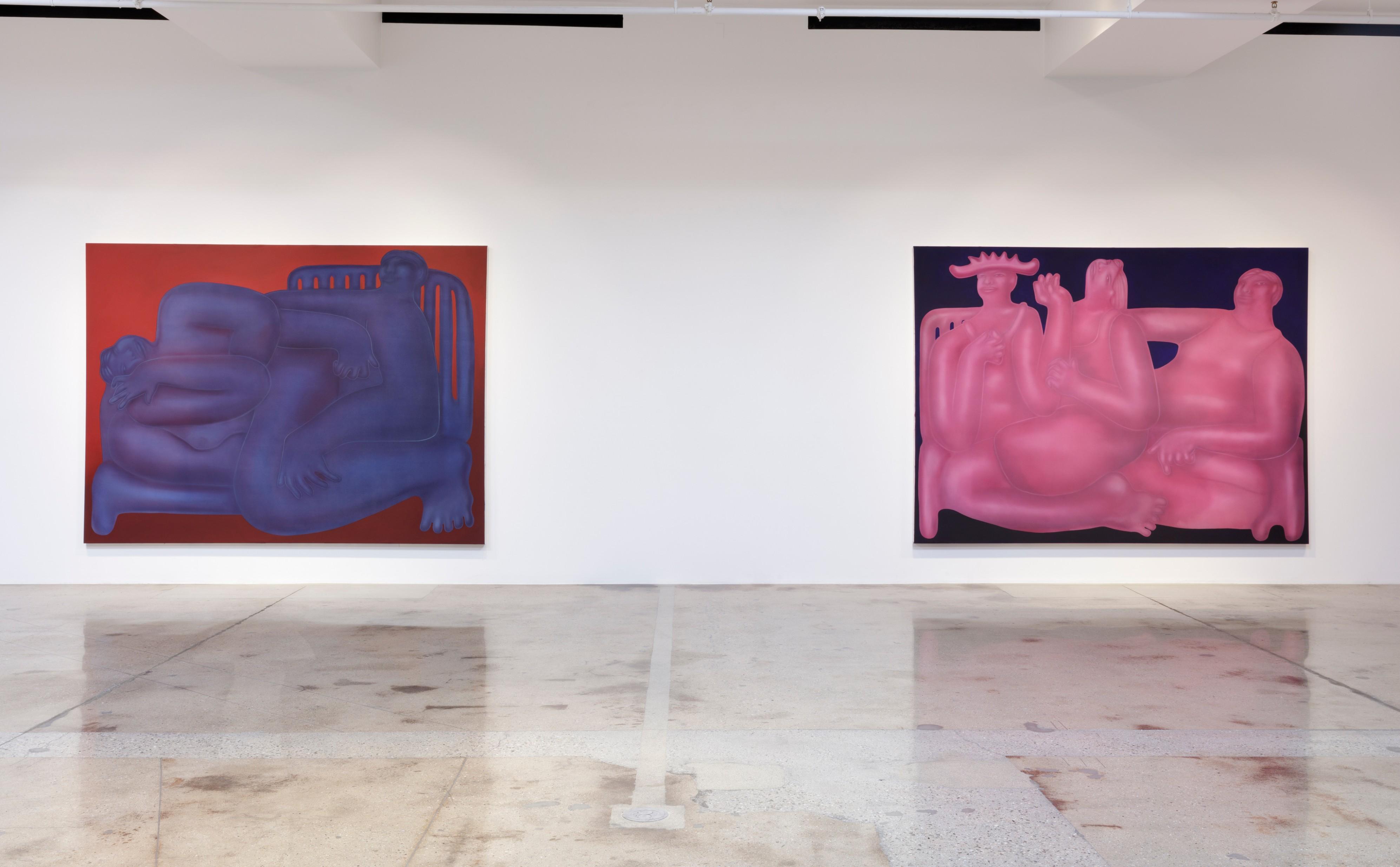 <em>Smothered Awake</em>. Installation view, Steve Turner, 2018