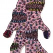 Hannah Epstein. <em>Cruhnch</em>, 2018. Acrylic, wool and burlap, 76 x 51 inches  (193 x 129.5 cm) thumbnail