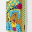 Dominic Dispirito. <em>Avin a slash</em>, 2018. Manually printed PLA plastic on board, 11 3/4 x 8 1/4 inches  (30 x 21 cm) thumbnail