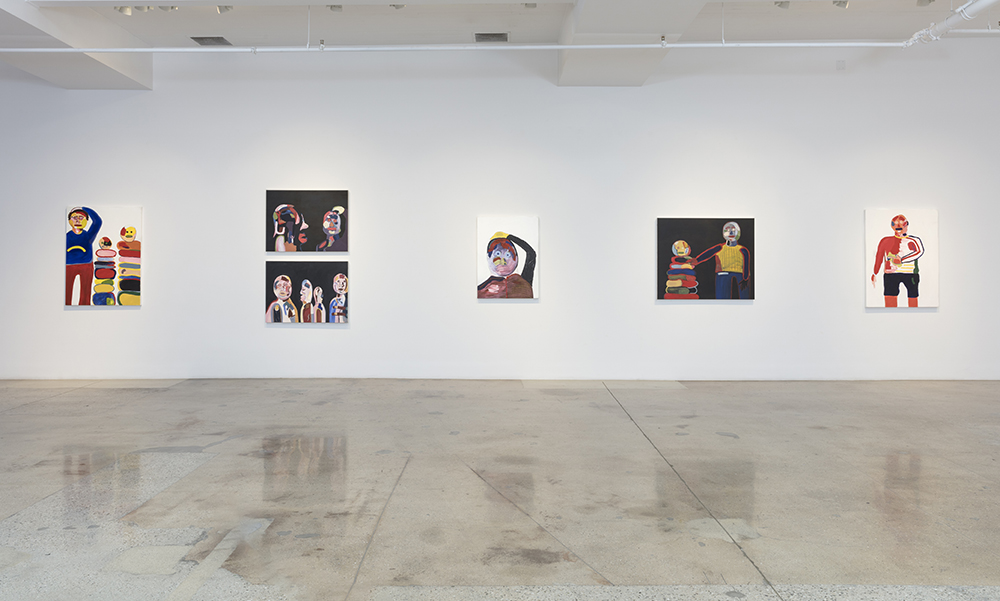 <em> Night Pockets</em>. Installation view, Steve Turner, 2019