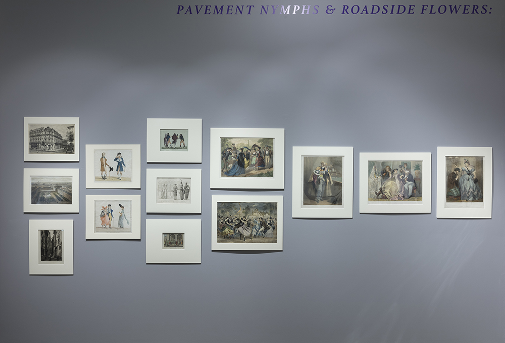 <em> Pavement Nymphs and Roadside Flowers: Prostitutes in Paris After the Revolution</em>, Curated by Victoria Dailey, Installation view, Steve Turner, 2019