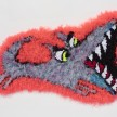 Hannah Epstein. <em>Chomper</em>, 2019. Wool, acrylic, polyester and burlap, 18 x 26 inches  (45.7 x 66 cm) thumbnail