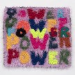 Hannah Epstein. <em>Power Piece</em>, 2019. Wool, acrylic, polyester and burlap, 27 x 30 inches  (68.6 x 76.2 cm) thumbnail