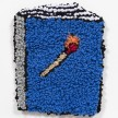 Hannah Epstein. <em>Book of Matches</em>, 2019. Wool, acrylic, polyester and burlap, 13 1/4 x 10 3/4 inches  (33.7 x 27.3 cm) thumbnail