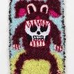 Hannah Epstein. <em>Dog With A Bone</em>, 2019. Wool, acrylic, polyester and burlap, 26 x 17 1/2 inches  (66 x 44.5 cm) thumbnail