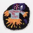 Hannah Epstein. <em>It's Actually Really Sad That...</em>, 2019. Wool, acrylic, polyester and burlap, 13 1/2 x 13 1/2 inches  (34.3 x 34.3 cm) thumbnail