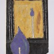 Kevin McNamee-Tweed. <em>Candle Reflection</em>, 2018. Glazed ceramic, 5 1/4 x 3 5/8 inches  (13.3 x 9.2 cm) thumbnail
