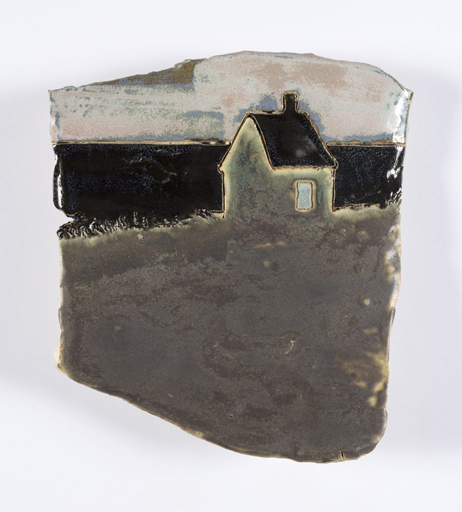 Kevin McNamee-Tweed. <em>House On The By The</em>, 2019. Glazed ceramic, 6 3/4 x 6 inches  (17.1 x 15.2 cm)