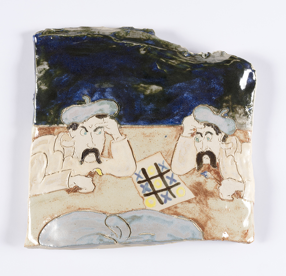 Kevin McNamee-Tweed. <em>Studio</em>, 2019. Glazed ceramic, 7 x 7 1/2 inches  (17.8 x 19.1 cm)