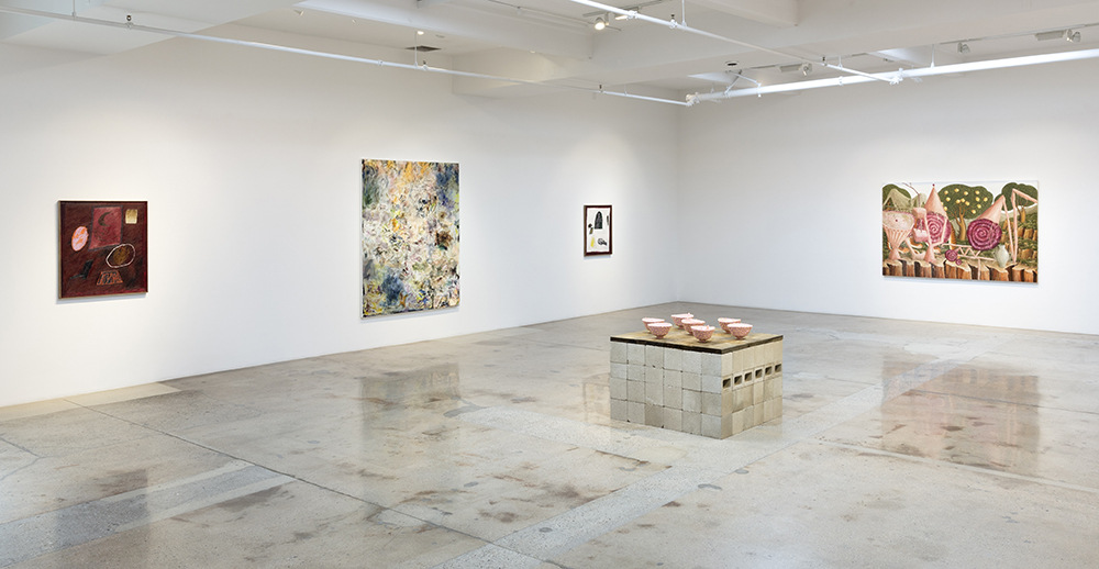 <em>Surface Tension</em>. Installation view, Steve Turner, 2019