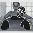 Brittany Tucker.<em> Bath time</em>, 2019. Oil on panel, 18 x 24 inches  (45.7 x 61 cm) thumbnail