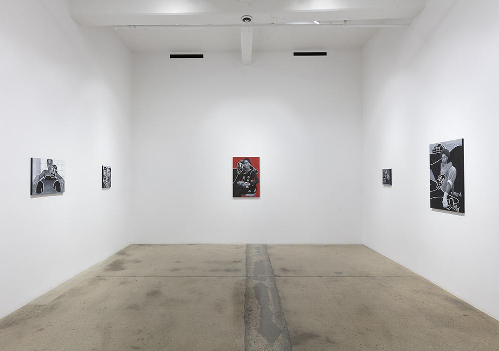 <em> Company</em>. Installation view, Steve Turner, 2019
