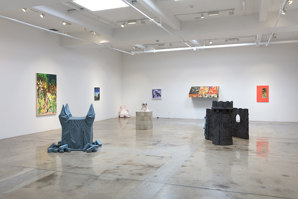 <em>Fantasia</em>. Installation view, Steve Turner, 2019
