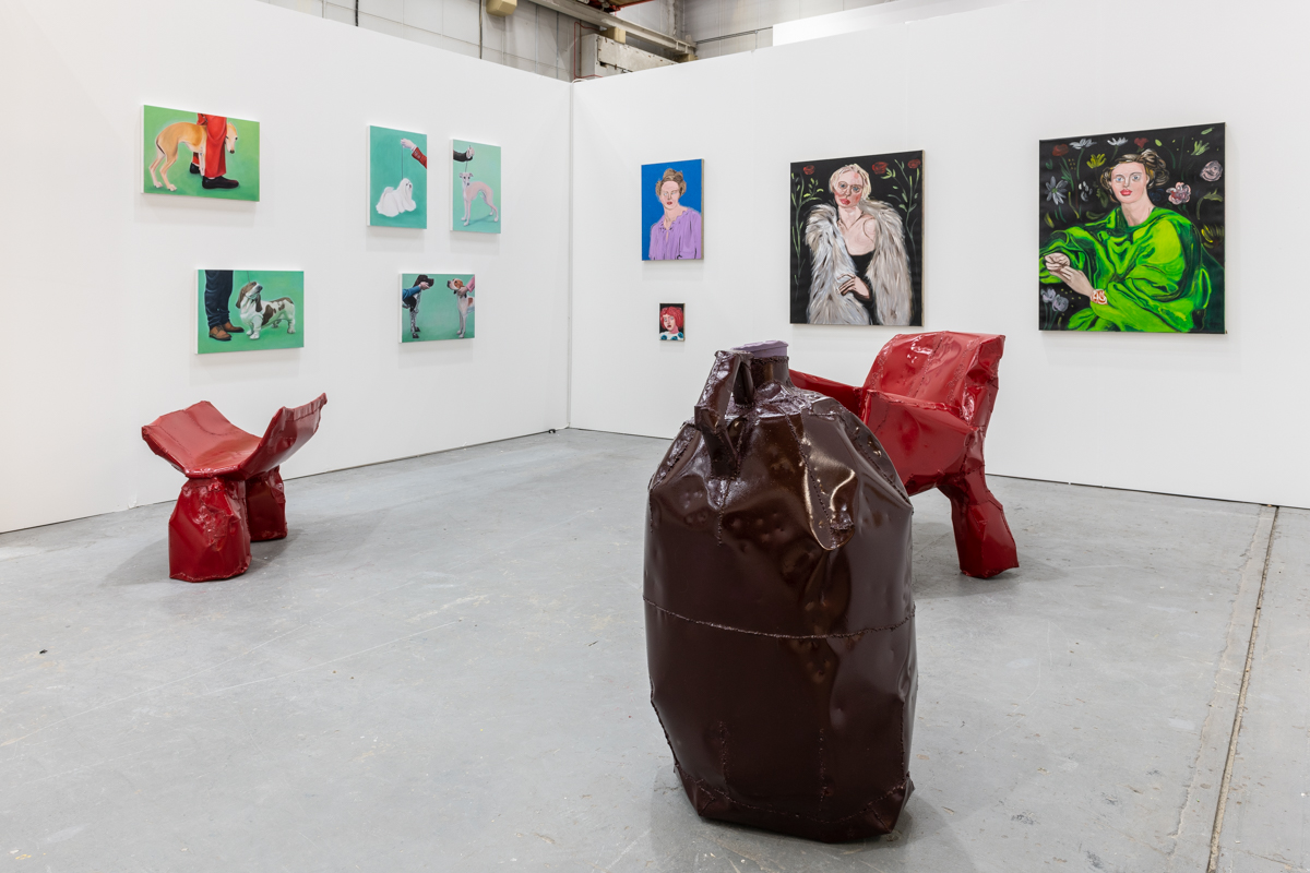 Sunday Art Fair, London. Installation view, 2019