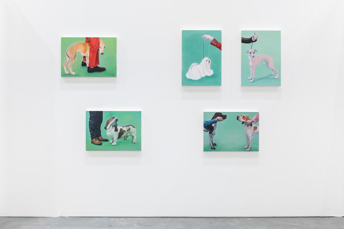 Sunday Art Fair, London. Installation view, 2019