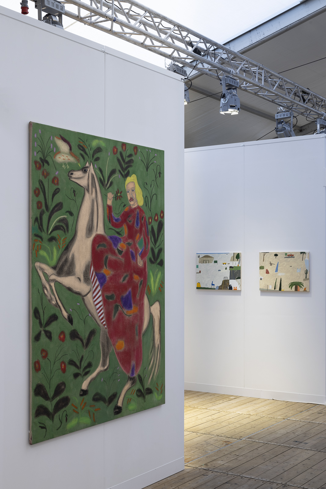 Enter Art Fair, Installation view, 2019