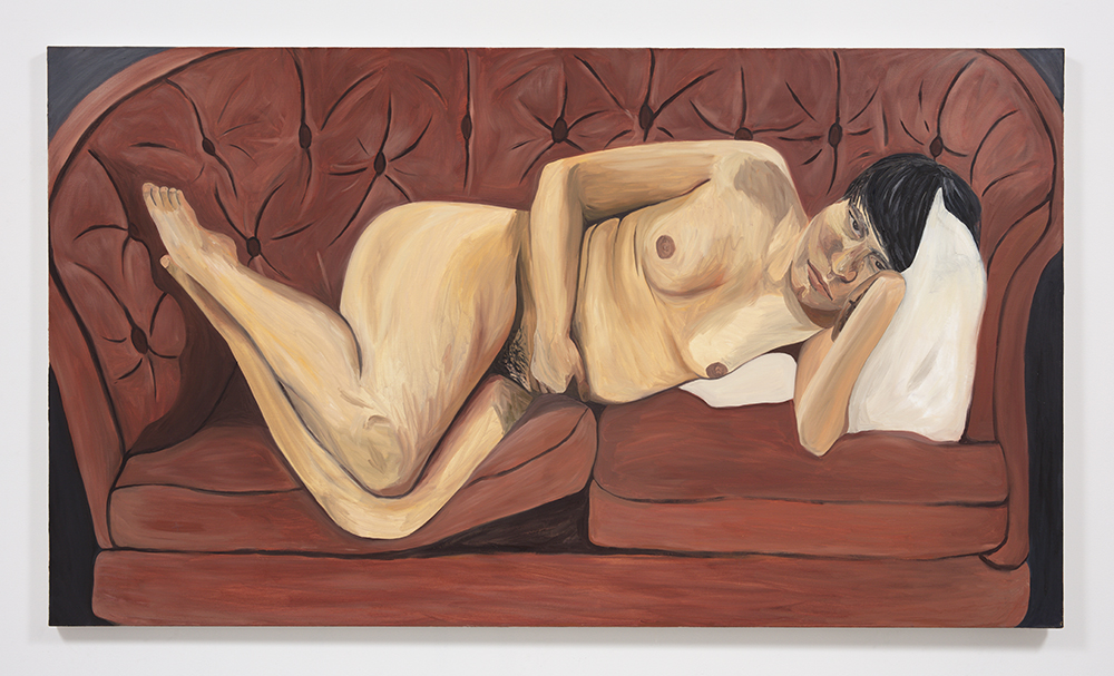 Rebecca Shippee.<em> Noah</em>, 2019. Oil on canvas, 48 x 84 inches (121.9 x 213.4 cm)