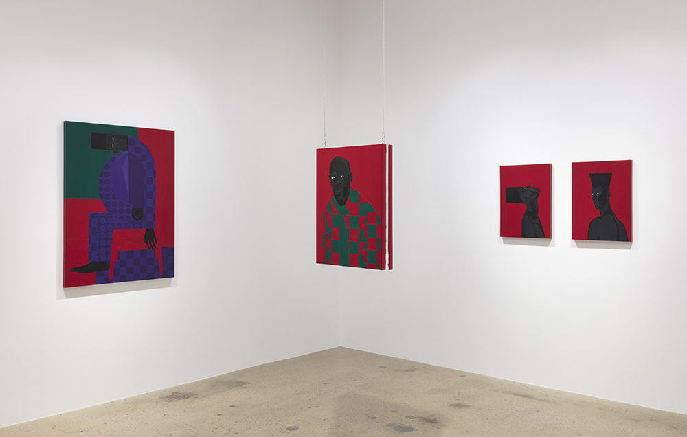 <em> Violet Alabama</em>. Installation view, Steve Turner, 2019