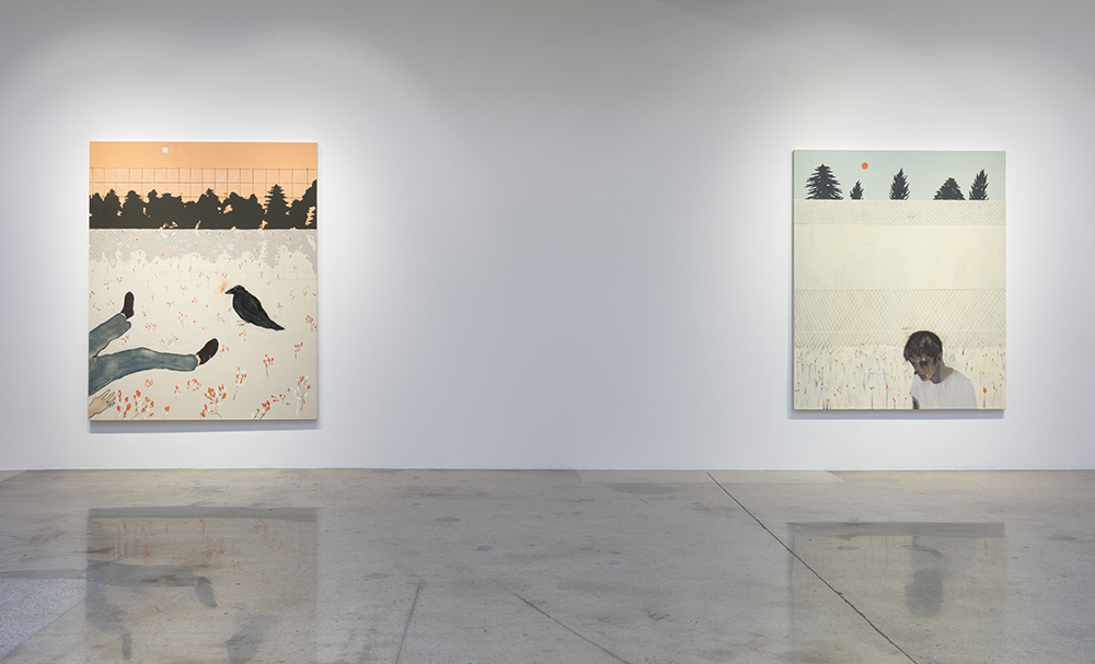 <em> Midday Demon</em>. Installation view, Steve Turner, 2019