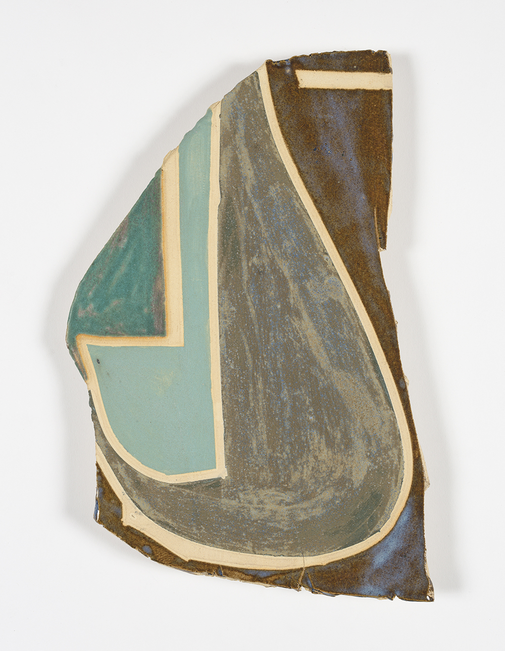 Kevin McNamee-Tweed.<em> Untitled</em>, 2019. Glazed ceramic, 14 x 10 inches (35.6 x 25.4 cm)