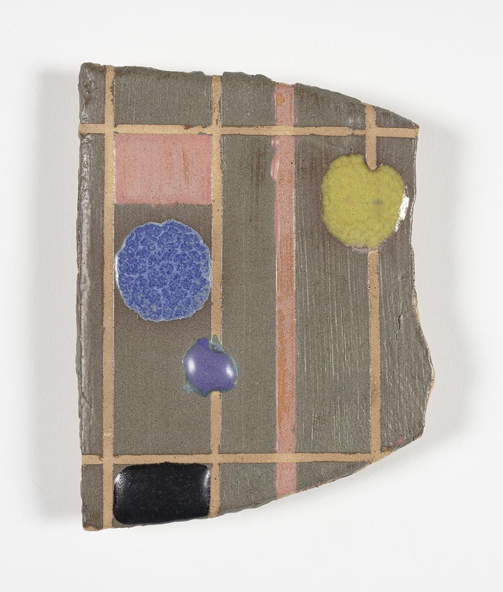 Kevin McNamee-Tweed.<em> Harunobu's Birds</em>, 2018. Glazed ceramic, 6 x 4 1/2 inches (15.2 x 11.4 cm)