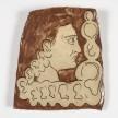 Kevin McNamee-Tweed.<em> Ear Thot</em>, 2019.  Glazed ceramic, 10 1/2 x 8 1/2 inches(26.7 x 21.6 cm) thumbnail