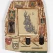 Kevin McNamee-Tweed.<em> Candida</em>, 2019. Glazed ceramic, 13 x 10 1/4 inches (33 x 26 cm) thumbnail
