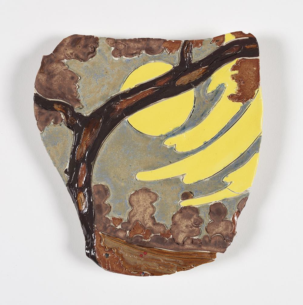 Kevin McNamee-Tweed.<em> Spontaneoto</em>, 2019. Glazed ceramic, 9 x 6 inches (22.9 x 15.2 cm)