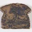 Kevin McNamee-Tweed.<em> Toast</em>, 2019. Glazed ceramic, 4 3/4 x 5 1/2 inches (12.1 x 14 cm) thumbnail