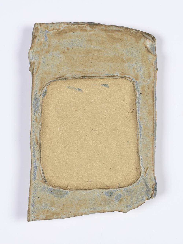Kevin McNamee-Tweed.<em> Frame Revine</em>, 2019. Glazed ceramic, 9 1/4 x 6 inches (23.5 x 15.2 cm)
