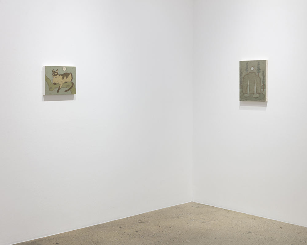 <em> Features</em>. Installation view, Steve Turner, 2019