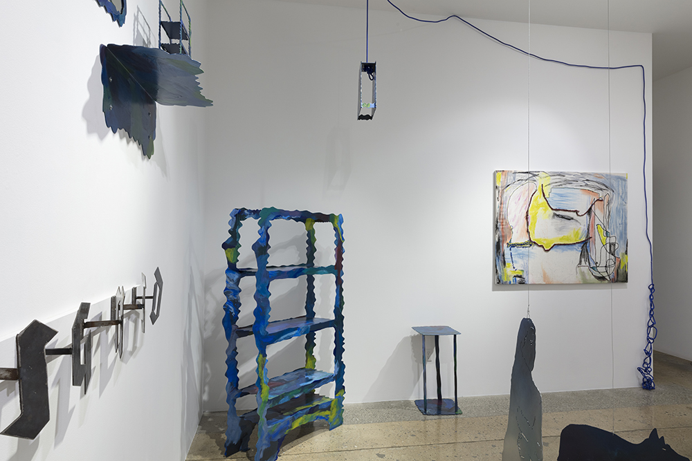 <em> Render Room</em>. Installation view, Steve Turner, 2019