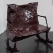 Jesse Pollock.<em> Rocker</em>, 2019. Mild steel, enamel paint, 41 3/8 x 31 1/2 x 47 1/4 inches (105 x 80 x 120 cm) thumbnail