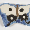 Kevin McNamee-Tweed.<em> Untitled (Butterfly)</em>, 2019. Glazed ceramic, 5 x 6 3/4 inches (12.7 x 17.1 cm) thumbnail
