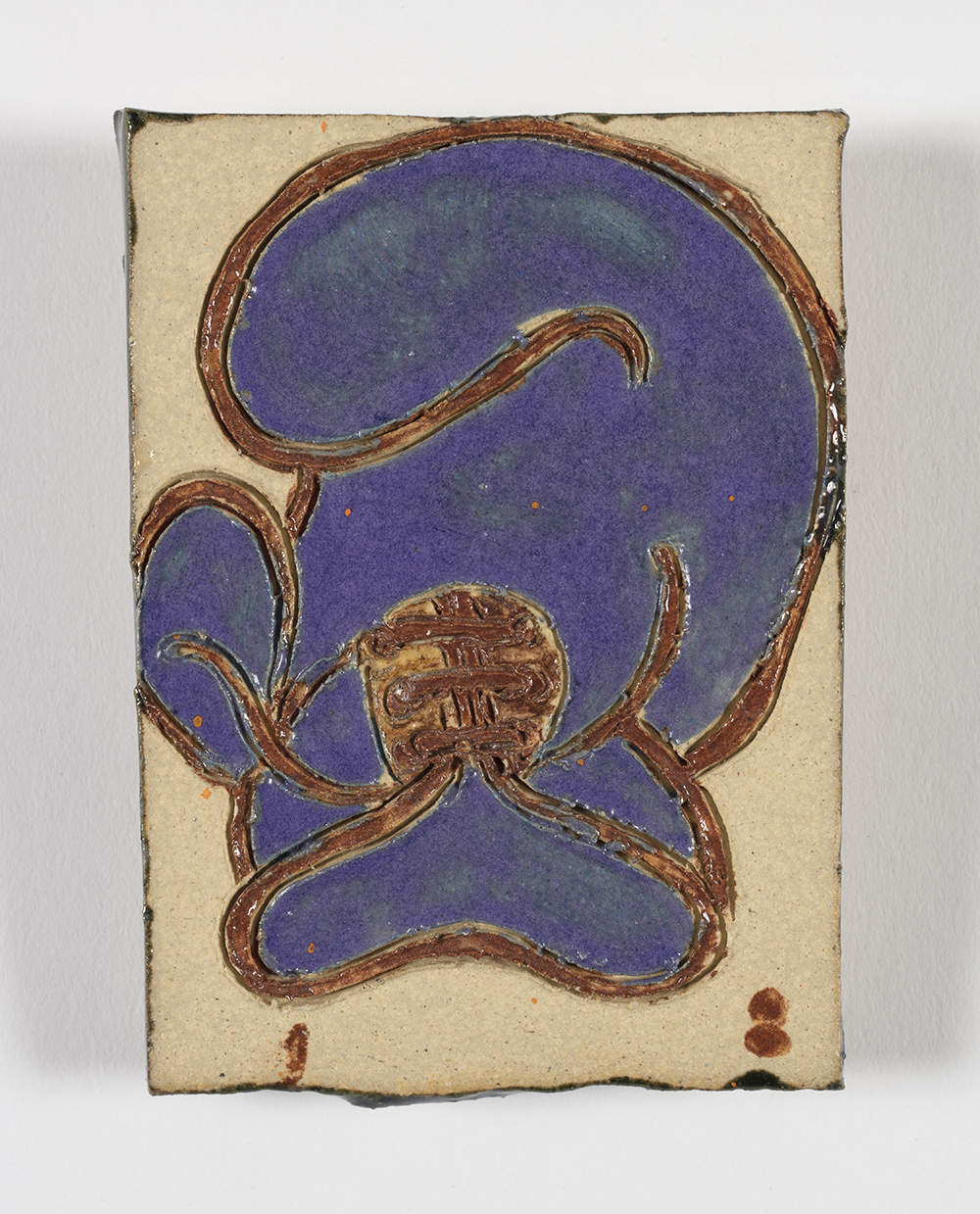 Kevin McNamee-Tweed.<em> Boxer</em>, 2019. Glazed ceramic, 4 x 2 1/4 inches (10.2 x 5.7 cm)