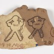 Kevin McNamee-Tweed.<em> Yale (Keys)</em>, 2019. Glazed ceramic, 5 x 7 1/2 inches (12.7 x 19.1 cm) thumbnail