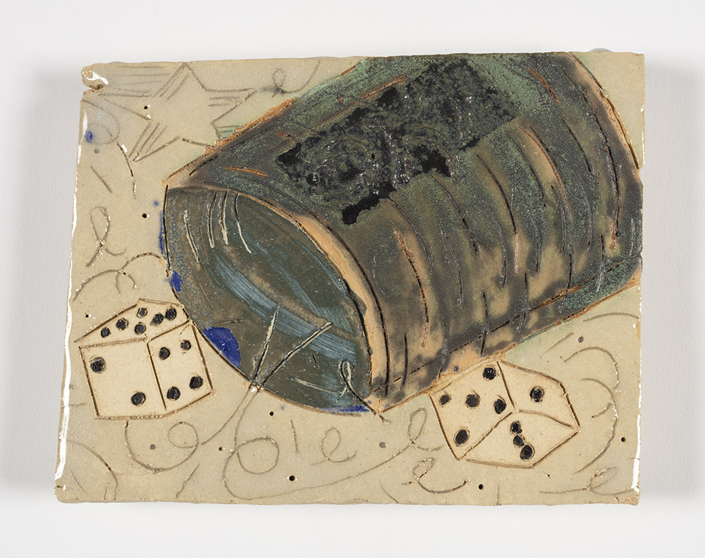 Kevin McNamee-Tweed.<em> Doice</em>, 2019. Glazed ceramic, 5 1/2 x 6 inches (14 x 15.2 cm)