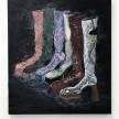 Stevie Dix.<em> Frontière</em>, 2019. Oil on canvas, 39 3/8 x 35 3/8 inches (100 x 90 cm) thumbnail