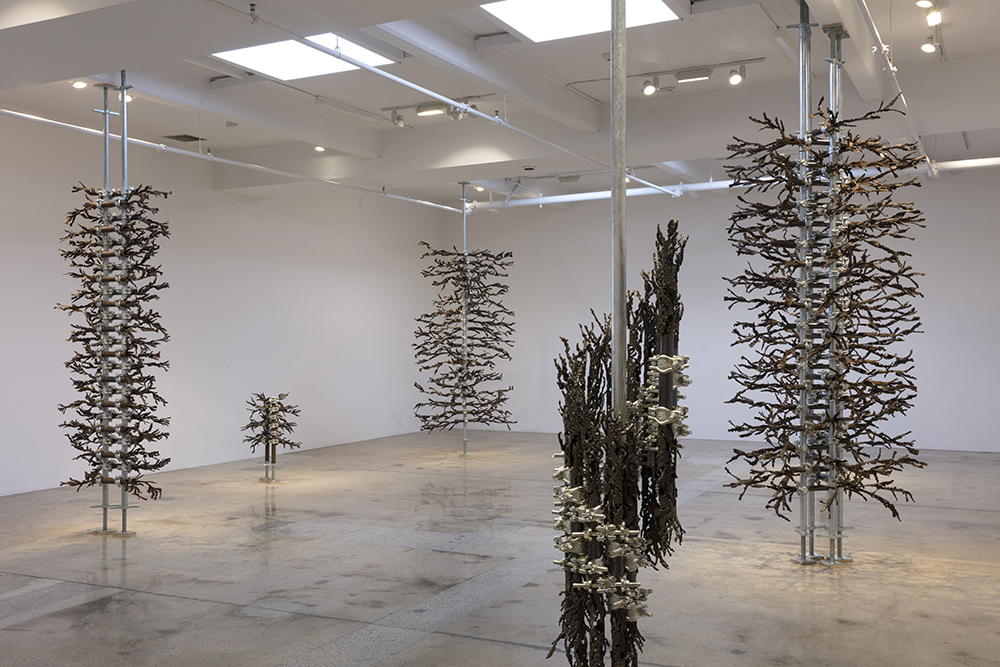 <em>I'm Burning Here</em>. Installation view, Steve Turner, 2019