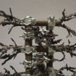 Luciana Lamothe. <em> Straight Burn, 1</em>, 2019. Iron pipes and clamps, 42 x 28 x 28 inches (106.7 x 71.1 x 71.1 cm) (detail) thumbnail