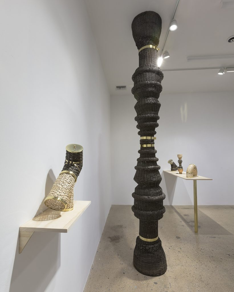 <em>Criollo Fittings</em>. Installation view, Steve Turner, 2019