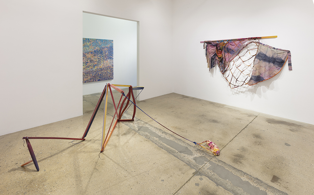 <em> Off Balance</em>. Installation view, Steve Turner, 2019