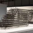 Luciana Lamothe.<em> Brutal Ambivalence</em>, 2019. Steel pipes and clamps, 76 3/4 x 236 1/4 x 47 1/4 inches (195 x 600 x 120 cm) thumbnail