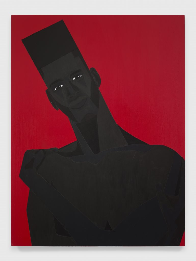Jon Key, The Man No. 11, 2020 Acrylic on panel 24 x 18 inches (61 x 45.7 cm)