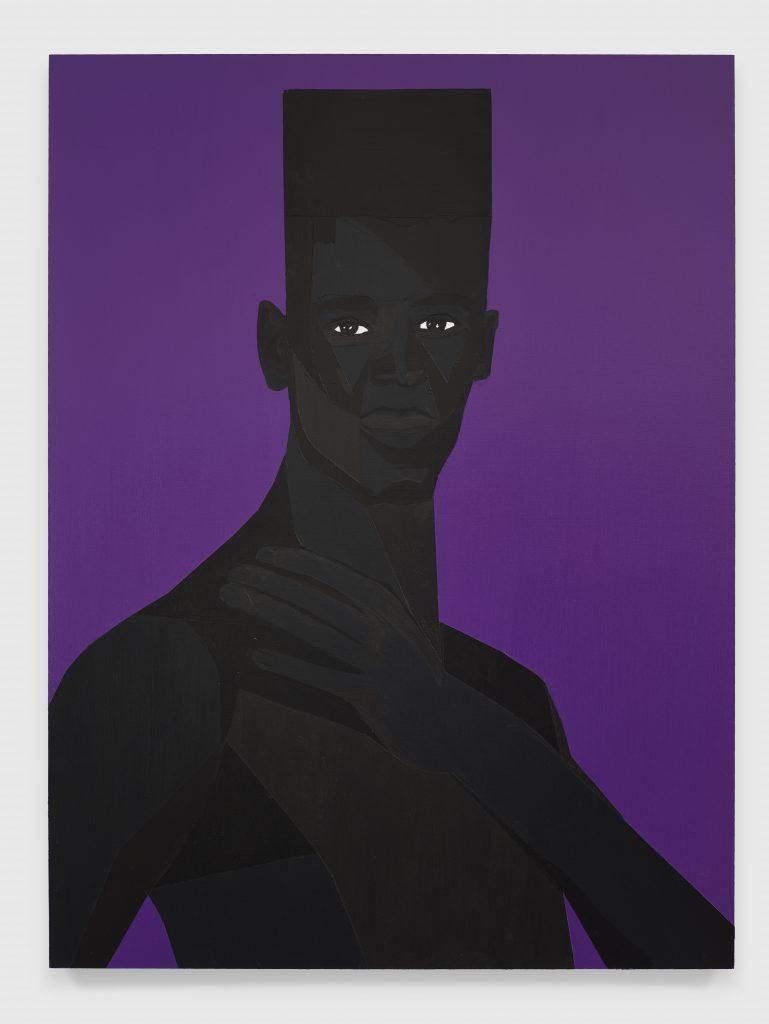 Jon Key, The Man No. 12, 2020 Acrylic on panel 24 x 18 inches (61 x 45.7 cm)