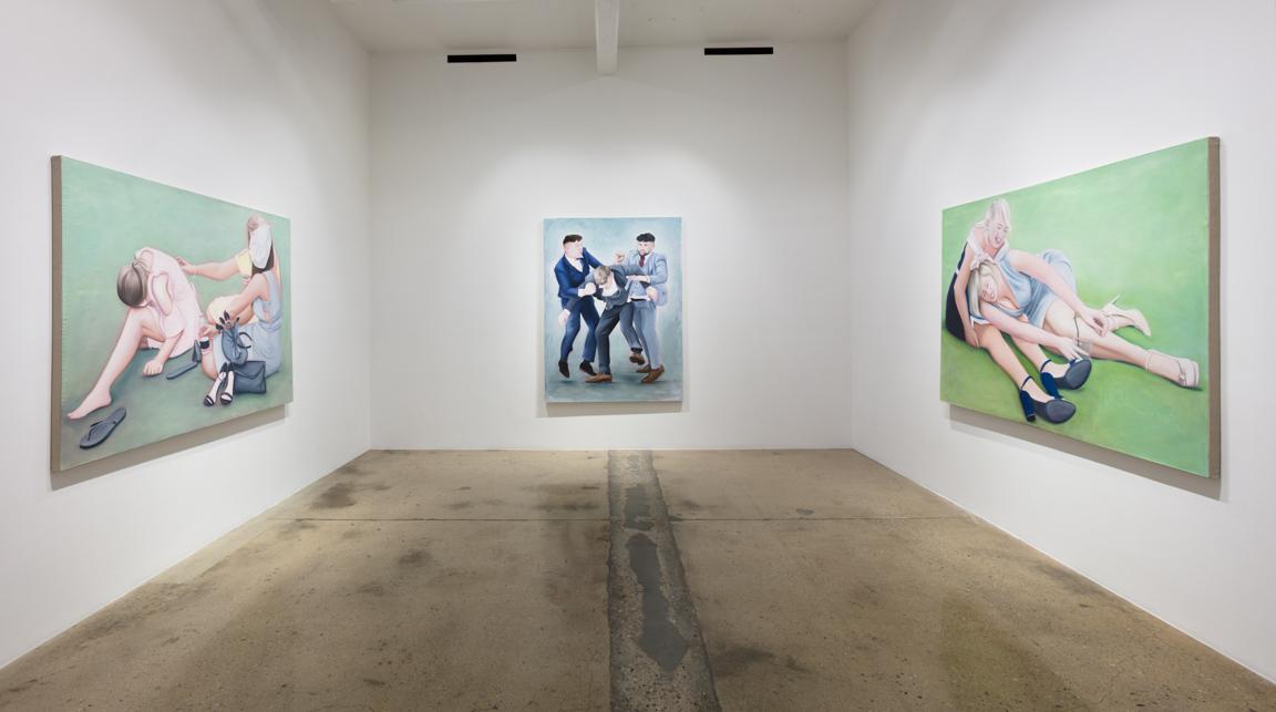 <em>Hospitality</em>. Installation view. Steve Turner, 2020