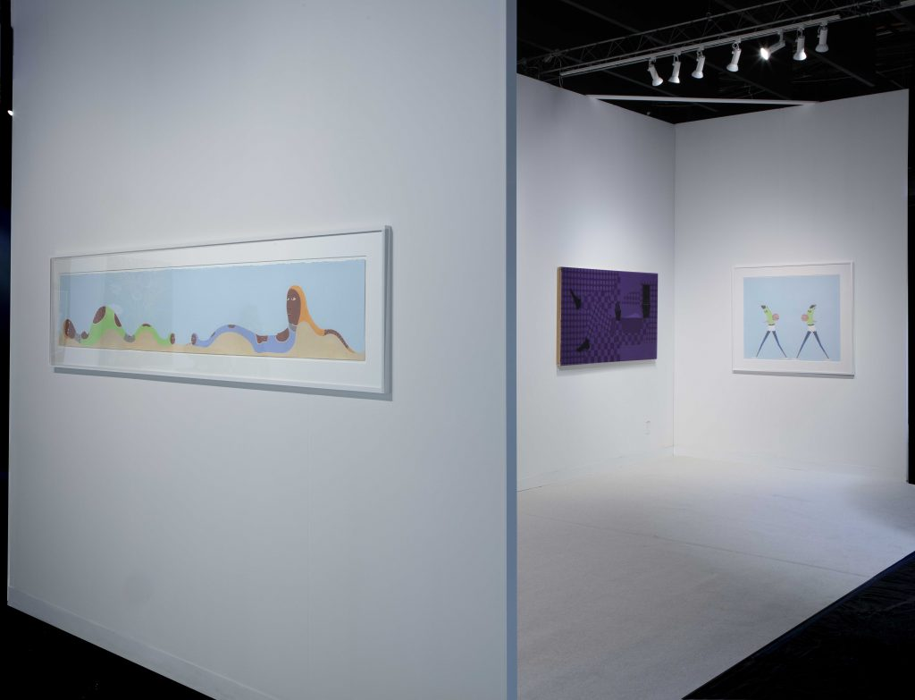 The Armory Show. Installation view, New York, 2020